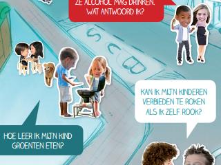 Affiche Gezond Opvoeden