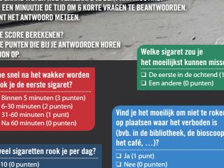 Nicotine-afhankelijkheidstest