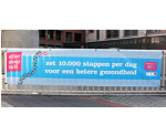10.000 stappen spandoek